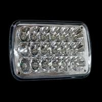 Directly Factory 54w Black Aled  High Low Beam Cree Rectangle  LED Driving Headlight